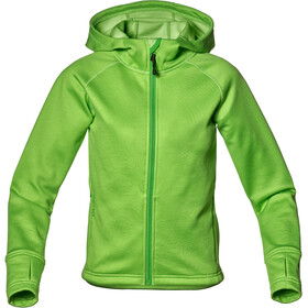 Isbjörn Panda Fleece Hoody Barn lemongrass